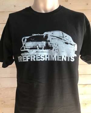 T-shirt Car black
